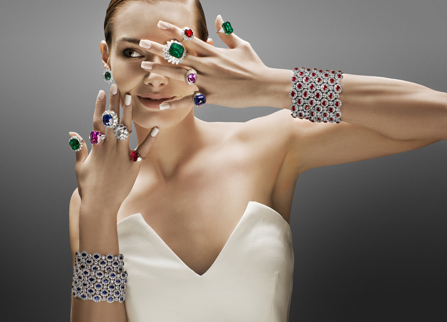 One-of-a-kind creations featuring rare gemstones from Bayco Jewels • Image courtesy of Bayco Jewels