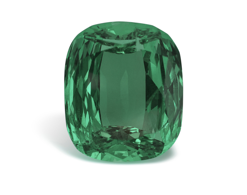 The Imperial Emerald, a 206-carat Colombian emerald unveiled by Bayco Jewels at Baselworld 2013 • Image courtesy of Bayco Jewels