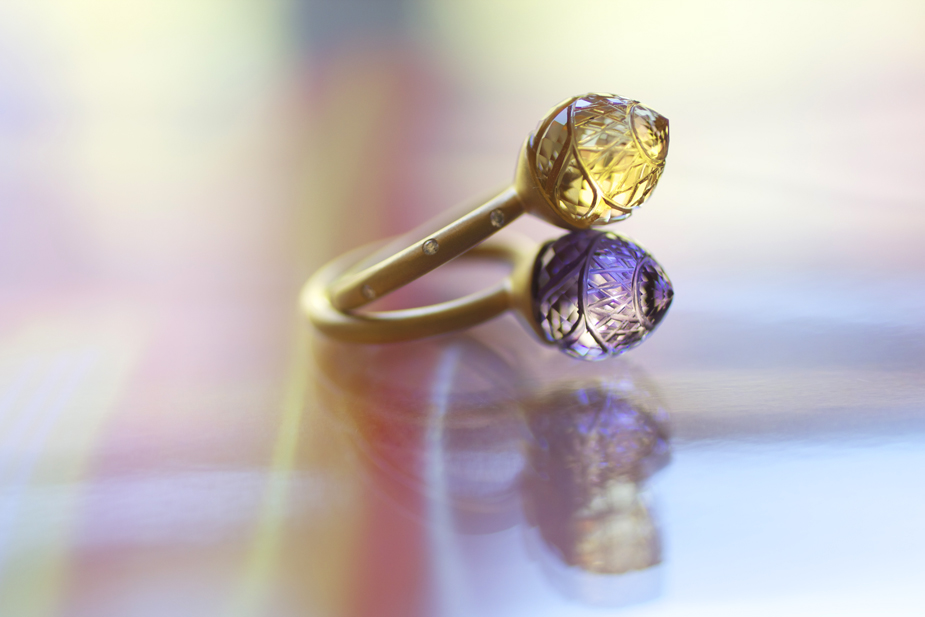 Minaret Stacking Rings from Shamila Jiwa's Lokum Lale Luxe Collection - Photo © Erika Winters