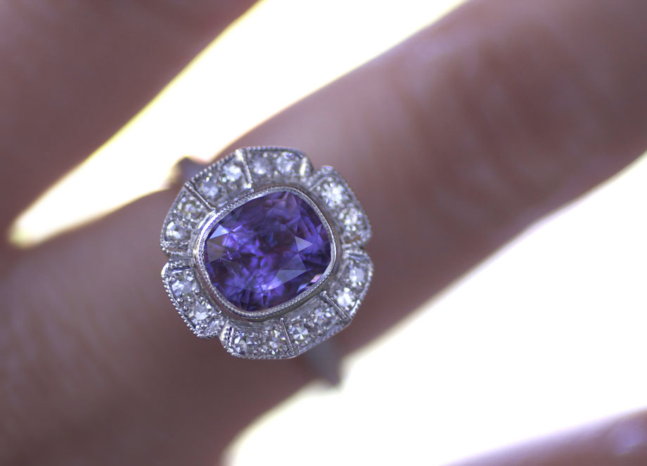 Erika Winters Designs Caroline Halo Engagement Ring