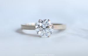Erika Winters Fine Jewelry - Grace 6 Prong Engagement Ring - Photo © Erika Winters