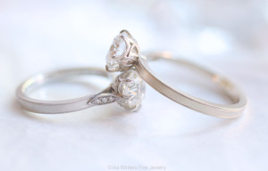 Erika Winters Fine Jewelry - Grace Solitaire - Photo © Erika Winters